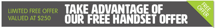 Free NBN ready handset on systems with 4 or more handsets