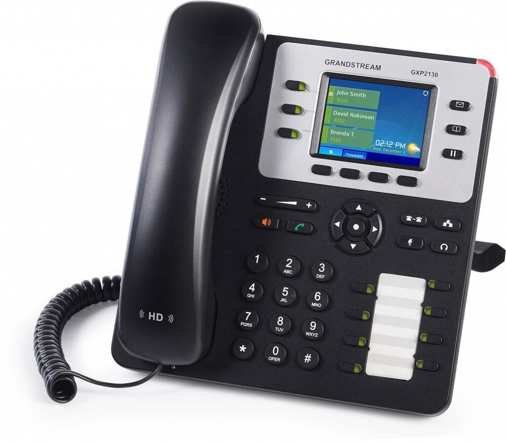 NBN ready Phone Systems. Grandstream PBX Phone SystemsGXP 2130 handsets