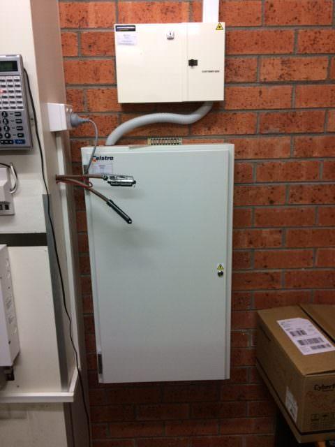 Telstra Fibre cabinet