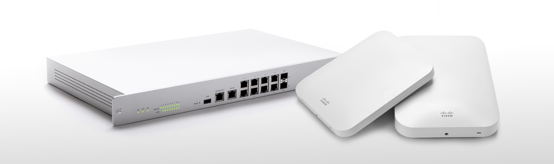 Business Internet routers from meraki